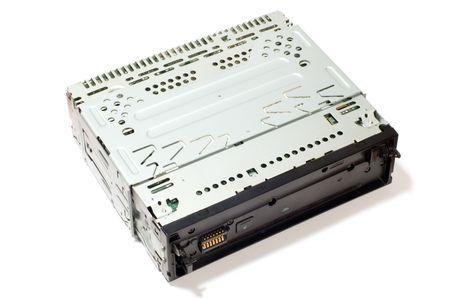 series object on white: audio player 版權商用圖片