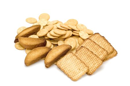 Objekt auf weiß - Lebensmittel - Backwaren Makro Standard-Bild - 3338126