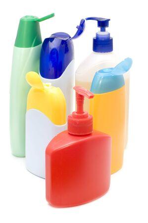 Objekt auf weiß - Container für Shampoo  Standard-Bild - 3367241