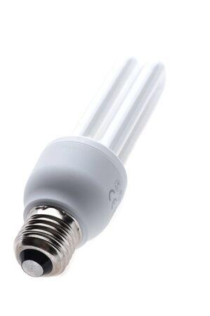 Objekt auf weiß - Kompakt-Leuchtstoff-Lampe Standard-Bild - 4352085