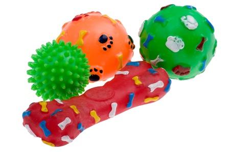 Objekt auf weiß - Kunststoff-Spielzeug für Hund Standard-Bild - 8992574
