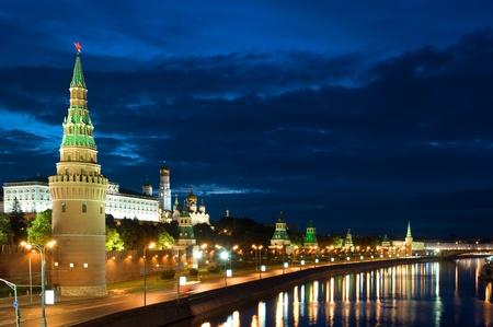 Russland die Moskauer Kreml am Morgen Standard-Bild - 9694701