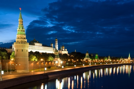 Russia The Moscow Kremlin in the morning Фото со стока - 9785656