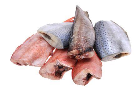 object on white - food fresh fish isolated Stock Photo - 11101941