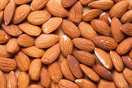 whole pecans: Background from the nuts Stock Photo