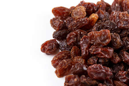 sultanas: Background from different mixed sultanas Stock Photo