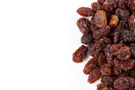 sultanas: different mixed sultanas Stock Photo