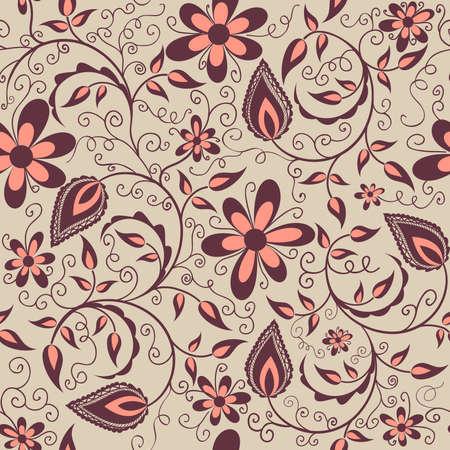 Vector bloem patroon element