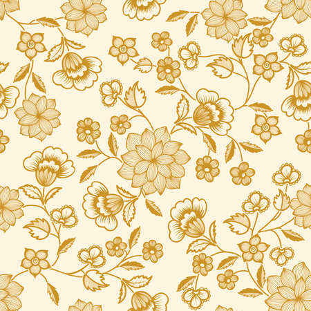 floral print: Vector flower pattern element