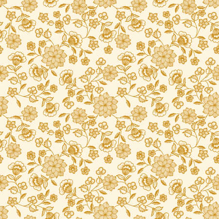 Vector flower pattern background Ilustracja
