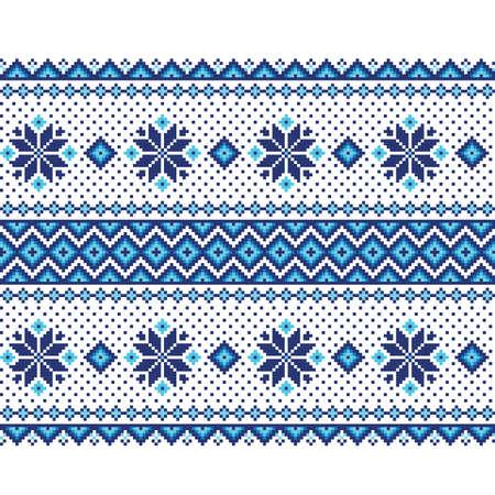 handiwork: Vector illustration of ukrainian seamless pattern ornament