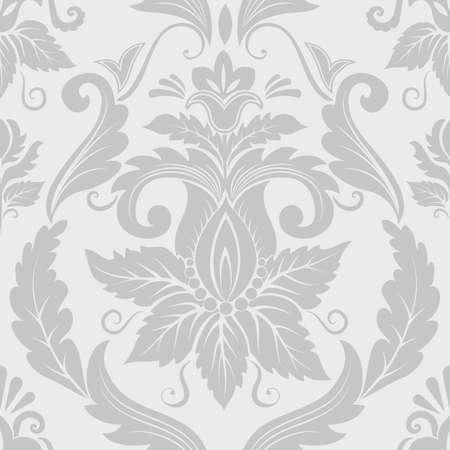 style wealth: Vector damask seamless pattern element Illustration