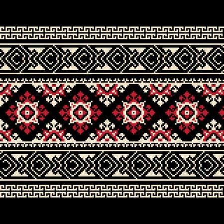 Vector illustratie van Oekraïense ornament Vector Illustratie