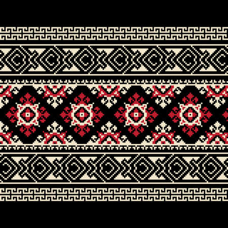 ukraine folk: Vector illustration of ukrainian ornament