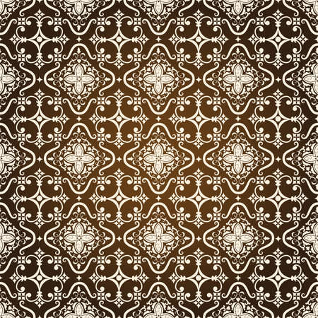 Vector damask seamless pattern background Vector