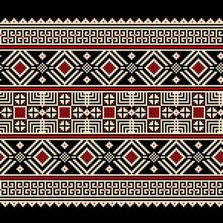 Vector illustration of ukrainian seamless pattern ornament Stock Vector - 16811949