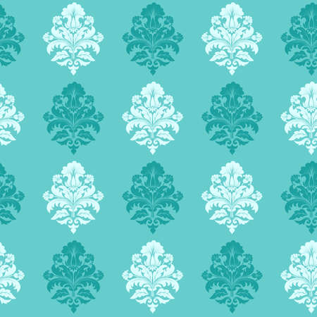 Vector damask seamless pattern background Vectores