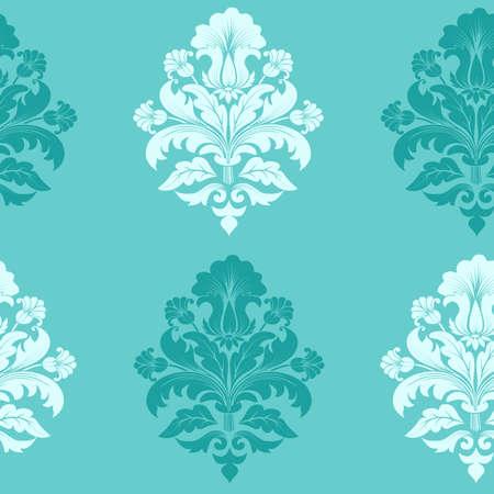 Vector damask seamless pattern element