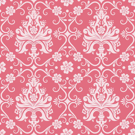 Vector damask seamless pattern background Stock Vector - 16811867
