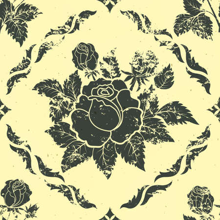 vintage floral seamless pattern element Stock Vector - 17007599