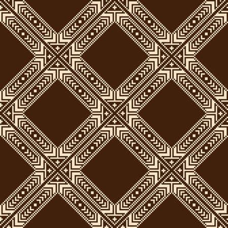 ukraine folk: Vector illustration of ukrainian folk seamless pattern ornament  Ethnic ornament