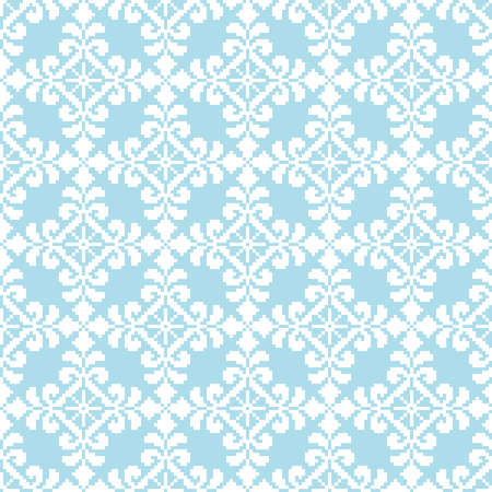 lappet: Vector illustration of ukrainian folk seamless pattern ornament  Ethnic ornament