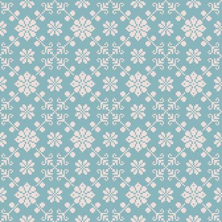 serviette: Vector illustration of ukrainian folk seamless pattern ornament  Ethnic ornament