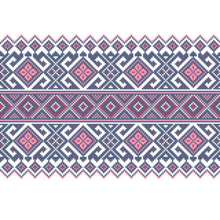 Vector illustration of ukrainian folk seamless pattern ornament  Ethnic ornament