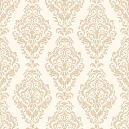 royal background: Vector damask seamless pattern background  Elegant luxury texture for wallpapers, backgrounds and page fill