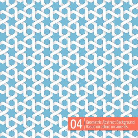 Vector abstrakten geometrischen Hintergrund