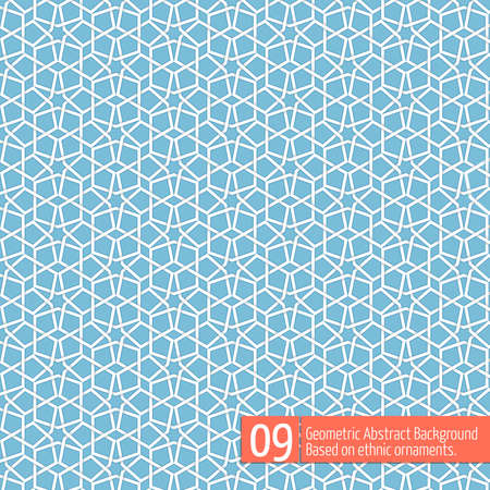 islamic pattern: Vector abstract geometric background