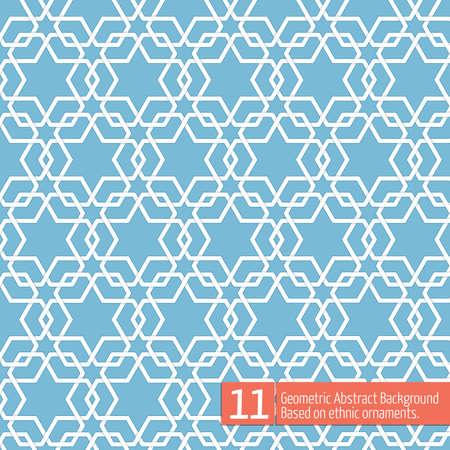 pattern sans soudure: Vecteur abstrait g�om�trique Illustration