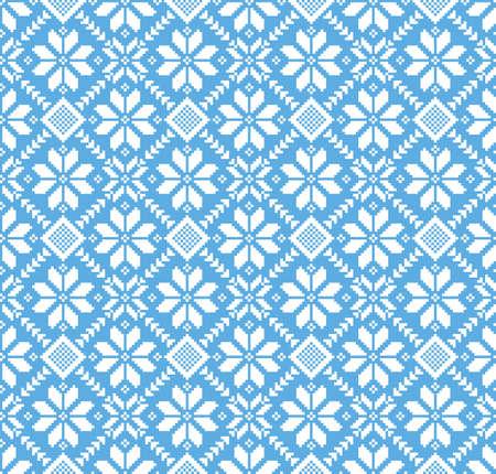 Vector illustration of ukrainian folk seamless pattern ornament. Vector