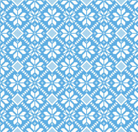 rushnik: Vector illustration of ukrainian folk seamless pattern ornament.