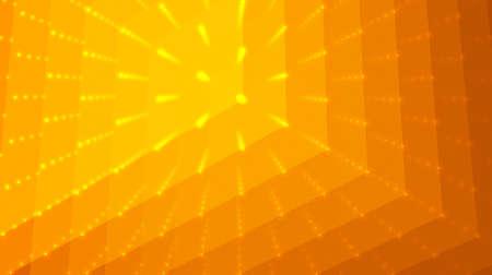 profundidad: Fondo abstracto del vector. Matriz de puntos y pol�gonos con ilusi�n de profundidad y perspectiva.