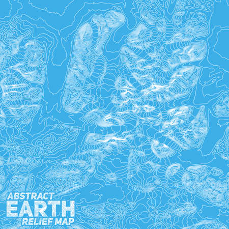 abstract earth relief map.