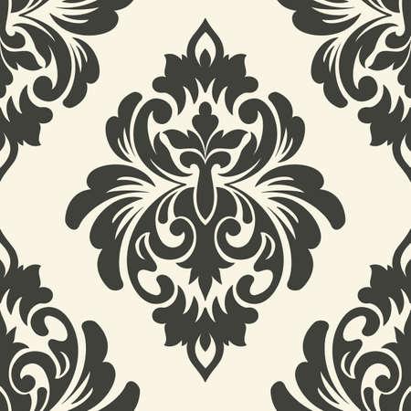 damask seamless: Vector damask seamless pattern element.