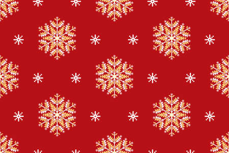 patter: Vector seamless patter element with elegant snowflakes. Nice background for  Christmas and New Year designs.