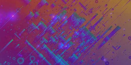 debris: Abstract vector mesh background. Random polygons and flares. Futuristic technology style. Elegant background for business presentations. Flying debris. eps10 Illustration