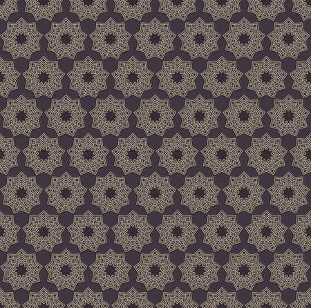 Zentangle geometric ornament element. Orient traditional ornament. Boho styled ornament. Elegant seamless texture for wallpapers, textile, wrapping. Illustration