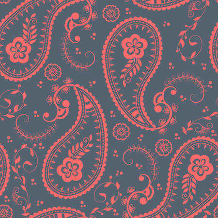pattern: Vector floral seamless pattern element in Arabian style. Arabesque pattern. Eastern ethnic ornament. Elegant texture for backgrounds.