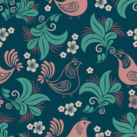 old backgrounds: Vector flower seamless pattern element. Elegant texture for backgrounds. Classical luxury old fashioned floral ornament, seamless texture for wallpapers, textile, wrapping.