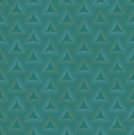 Vector seamless abstract geometric background. Optical art. Engraving style. Elegant background for your designs.