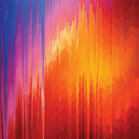 Vector glitch background. Digital image data distortion. Colorful abstract pattern for your designs. Chaos aesthetics of signal error. Digital decay. Illustration