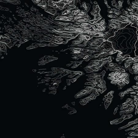 ベクトル抽象地球救済マップ。生...