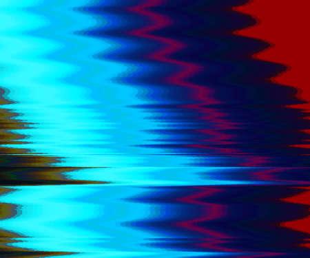 Vector Glitch Hintergrund. Digitale Bilddatenverzerrung. Bunte abstrakten Hintergrund für Ihre Entwürfe. Chaosästhetik des Signalfehlers Digitaler Zerfall