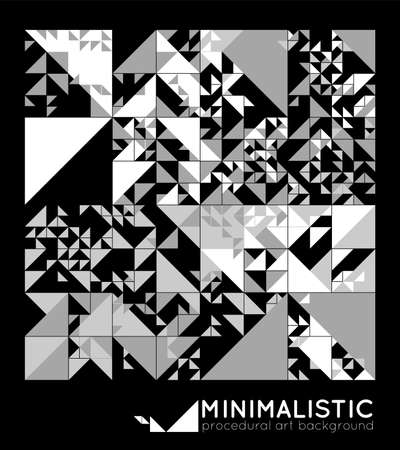 minimalistic: Vector minimal covers procedural design. Futuristic minimalistic layout. Conceptual generative background. Journal or book cover template. eps10.