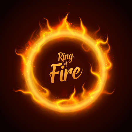 Ring of fire icon.