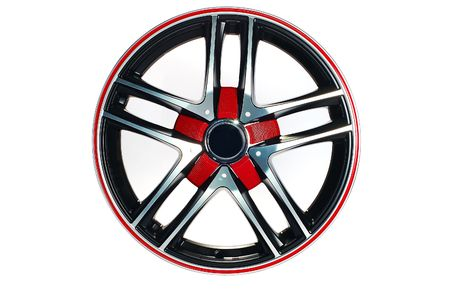 Detail of beauty design of Sport Car Wheel Stock Photo - 6884248