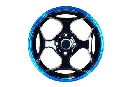 Detail of beauty design of Sport Car Wheel Stock Photo - 6884249